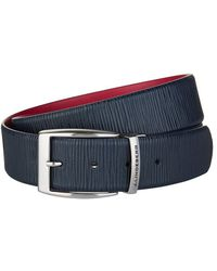 J.Lindeberg - Asher Leather Belt - Lyst