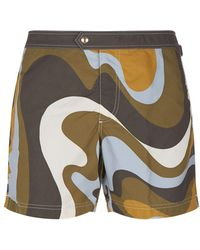 Tom Ford - Marble Swim Shorts - Lyst