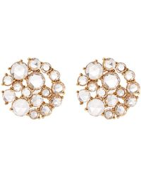 Susan Foster - Diamond Cluster Earrings - Lyst