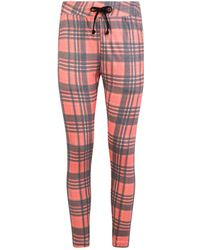 Wildfox - Sweetheart Check Cropped Leggings - Lyst