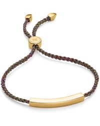 Monica Vinader - Rainbow Metallica Linear Friendship Bracelet - Lyst