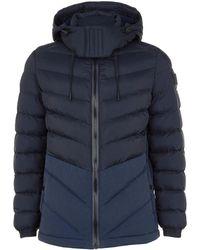 BOSS Orange - Quilted Jacket - Lyst