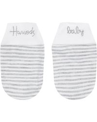 Harrods - Harrods Baby Striped Mittens - Lyst