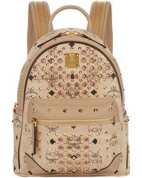 MCM | Mini Diamond Visetos Backpack | Lyst