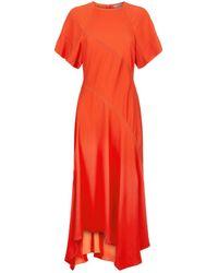 Sportmax - Vargas Contrast Stitch Dress - Lyst