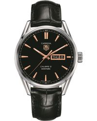 Tag Heuer - Carrera Automatic 41mm Watch - Lyst