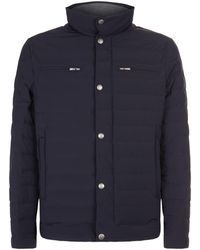 Brunello Cucinelli - Quilted Zipped Jacket - Lyst