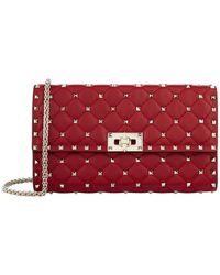 Valentino - Rockstud Spike Clutch Bag - Lyst