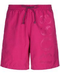 BOSS Green - Logo Swim Shorts - Lyst