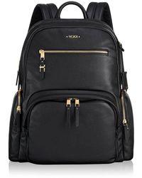 Tumi Leather Backpack