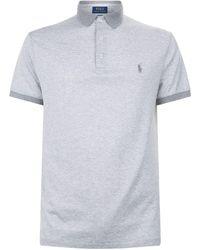 Ralph Lauren - Mini Stripe Polo Shirt, White, S - Lyst
