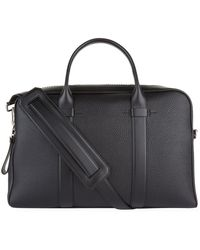 Tom Ford - Grained Leather Holdall - Lyst