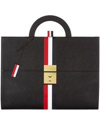 Thom Browne - Leather Briefcase - Lyst