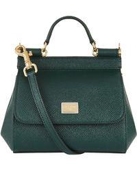 Dolce & Gabbana - Micro Sicily Top Handle Bag - Lyst
