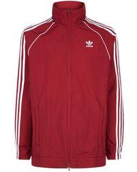 97c934781f35 Lyst - Adidas Originals Clr84 Nylon Track Jacket in Black for Men