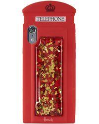 Harrods - Silcone Phonebox Iphone Case - Lyst