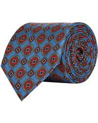 Pal Zileri - Mosaic Silk Tie - Lyst