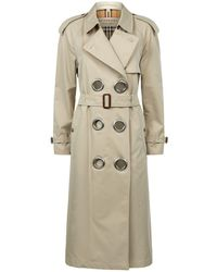 Burberry - Meregate Trench Coat - Lyst