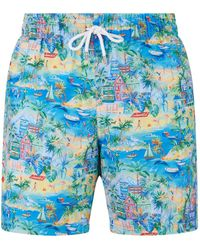 Derek Rose - Beach Swim Shorts - Lyst