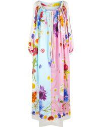 Natasha Zinko - Floral Print Maxi Dress - Lyst