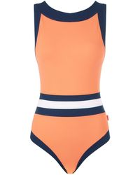Shan - Colour Block Swimsuit - Lyst