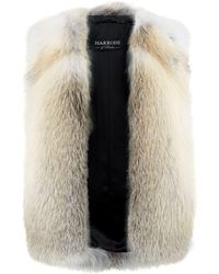 Harrods - Fox Fur Gilet - Lyst