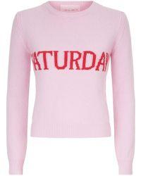 Alberta Ferretti - Wool-cashmere Saturday Jumper - Lyst