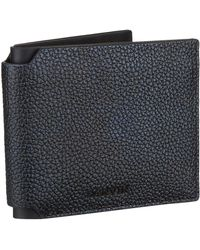 Lanvin - Navy And Black Wallet - Lyst