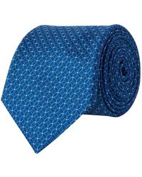 Canali - Circle Print Tie - Lyst