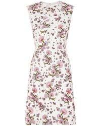 Giambattista Valli - Floral Bow Detail Dress - Lyst