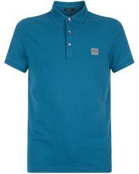 BOSS Orange - Passenger Logo Polo Shirt - Lyst