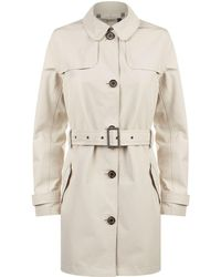 Barbour | Thornhill Trench Coat, Grey, Uk 8 | Lyst