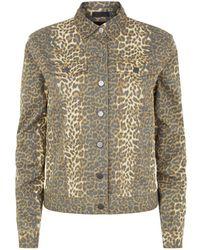 ATM - Leopard Print Jacket - Lyst