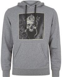 Alexander McQueen - Crowned Skull Hoodie - Lyst