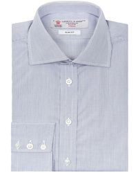 Turnbull & Asser - Regent Sim Fit Micro Check Shirt - Lyst