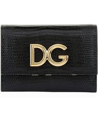 Dolce & Gabbana - Logo French Flap Wallet - Lyst