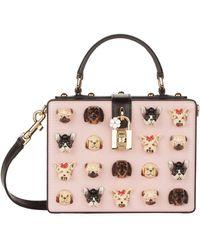 Dolce & Gabbana - Dolce Box Dog Charm Bag - Lyst