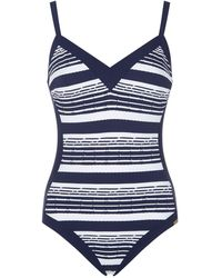 Maryan Mehlhorn - Cruise Stripe Swimsuit - Lyst