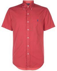 Polo Ralph Lauren - Cotton Twill Shirt - Lyst