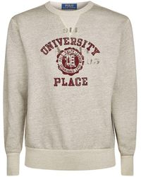 Polo Ralph Lauren - University Slogan Sweatshirt - Lyst