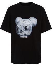 Juun.J - Bear Print T-shirt - Lyst