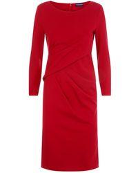 Emporio Armani - Ruched Pencil Dress - Lyst