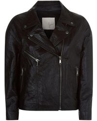 Joie - Kameke Leather Jacket - Lyst