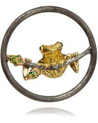 Annoushka - Hoopla Frog Pendant - Lyst