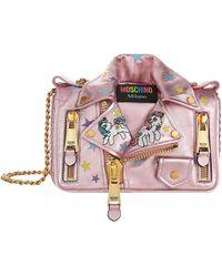 Moschino - My Little Pony Biker Jacket Shoulder Bag - Lyst