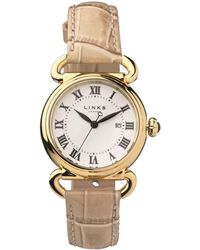 Links of London - Yellow Gold Driverwatch - Lyst