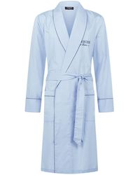 Harrods - Plain Cotton Robe - Lyst