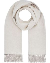 Harrods - Double Faced Cashmere Scarf - Lyst