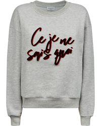 Claudie Pierlot - Slogan Sweatshirt - Lyst