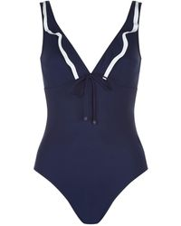 Shan | Frilled Underwired Swimsuit | Lyst